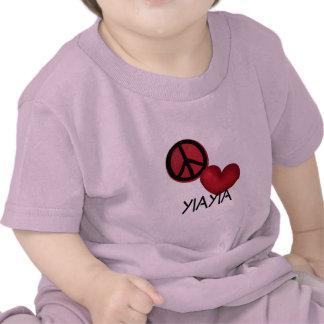 Peace Love YiaYia Shirt
