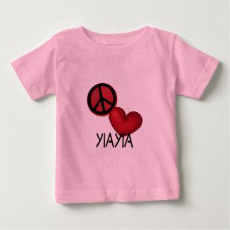 Peace Love YiaYia Tee Shirt