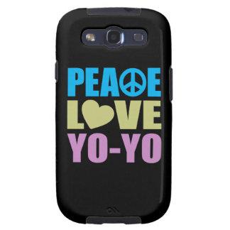Peace Love Yo-Yo Samsung Galaxy SIII Cases