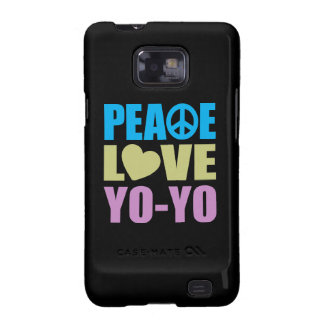 Peace Love Yo-Yo Samsung Galaxy S Cover