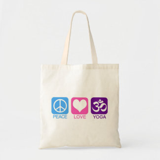 PEACE LOVE YOGA - bag