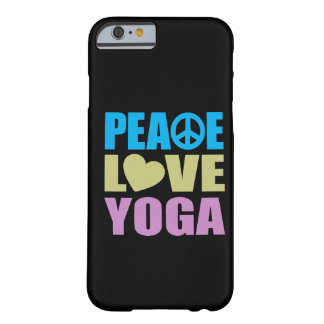 Peace Love Yoga Barely There iPhone 6 Case