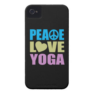 Peace Love Yoga iPhone 4 Cover