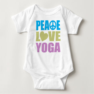 Peace Love Yoga Tee Shirt