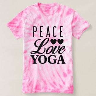Peace Love Yoga Tie-dye Tee