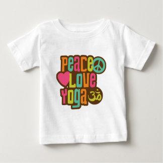 Peace Love Yoga Tshirts