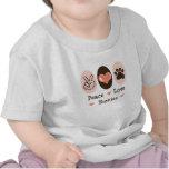 Peace Love Yorkies Infant T-shirt