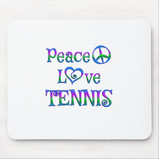 Peace Lover Tennis Mouse Pad