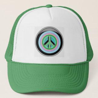 Peace lover trucker hat