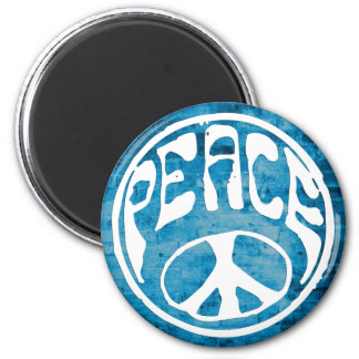Peace: Make a Difference 2 Inch Round Magnet