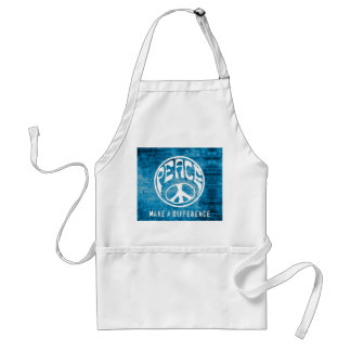 Peace: Make a Difference Adult Apron