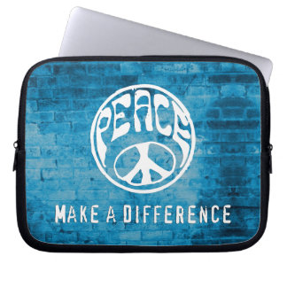 Peace: Make a Difference Computer Sleeves