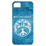 Peace: Make a Difference iPhone 5 Cover