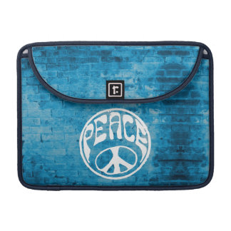 Peace: Make a Difference MacBook Pro Sleeve