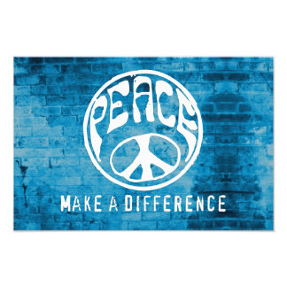 Peace: Make a Difference Photograph