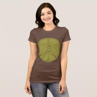 Peace Man T-shirt moss circle