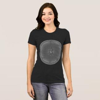 Peace Man T-shirt silver coin circle