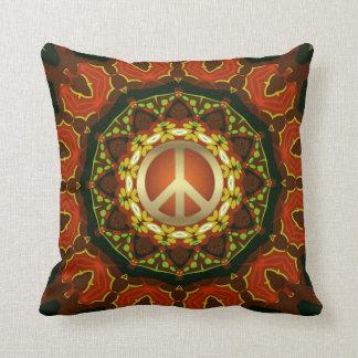 Peace Mandala Boho Batik Cushion / Pillow