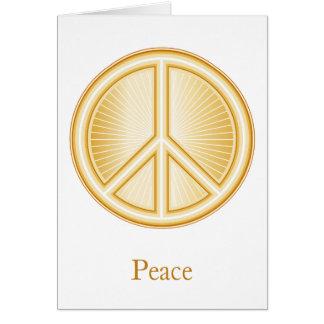 Peace Mandala Card