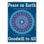 Peace Mandala Card 1
