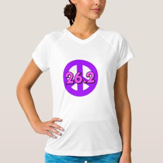 Peace marathon tee shirt