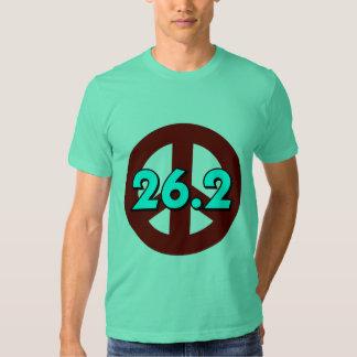 Peace marathon tee shirts