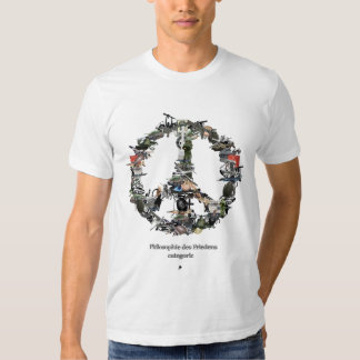 peace mark collage T-Shirt