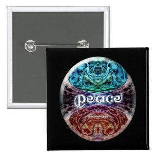 Peace Meditation Graphic Button