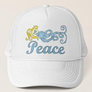 Peace Mermaid (Holiday Dreams) Trucker Hat