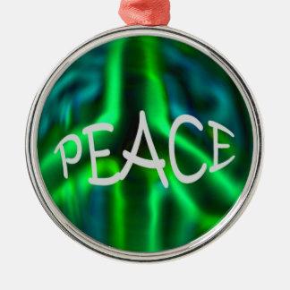 Peace Metal Ornament