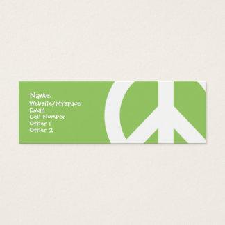 Peace Mini Business Card