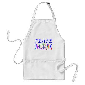Peace Mom Adult Apron
