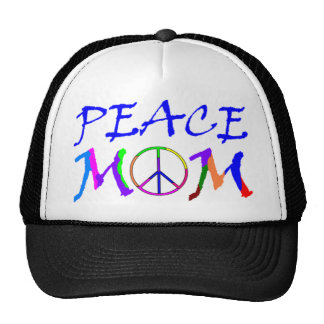 Peace Mom Trucker Hat