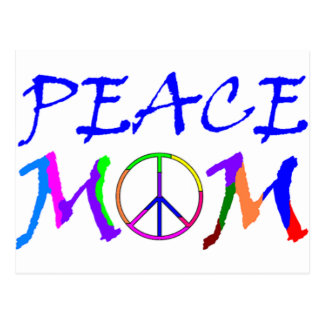 Peace Mom Postcard