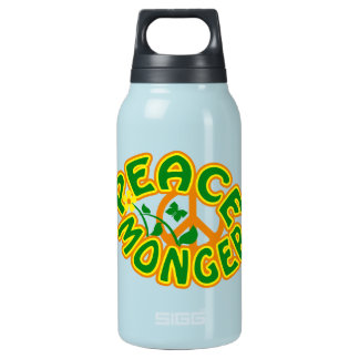 Peace Monger custom - choose color Insulated Water Bottle