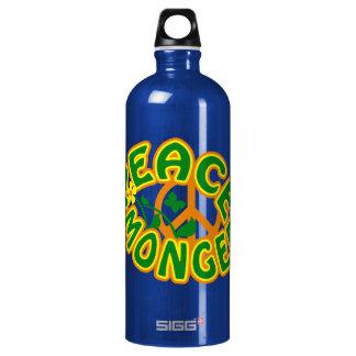 Peace Monger custom - choose color Water Bottle