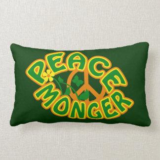 Peace Monger custom throw pillow