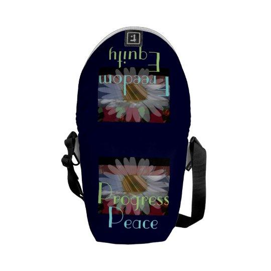 Peace monger! Daisy-Freedom- Mini Messenger Bag