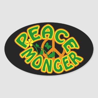 Peace Monger stickers