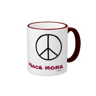 PEACE MORE  Mug
