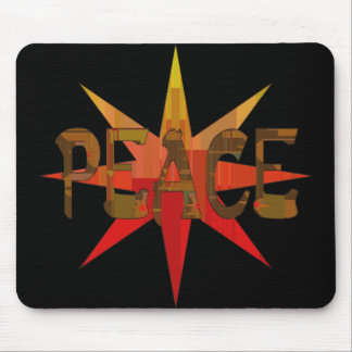 Peace Mosaic Mouse Pad