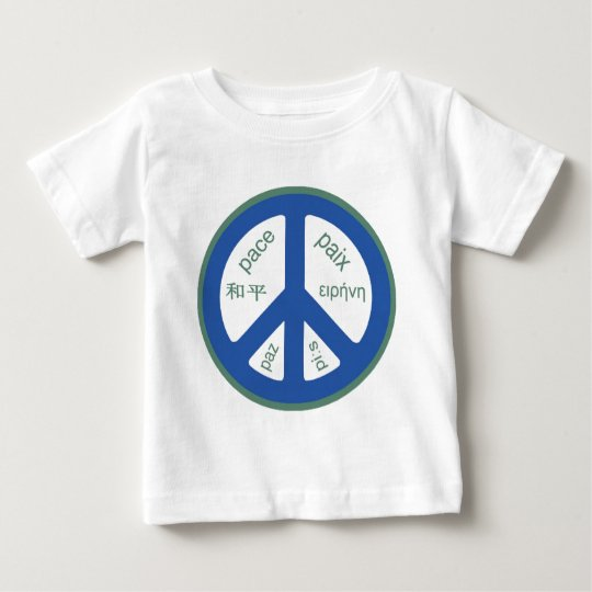 Peace Multilingual Baby T-Shirt