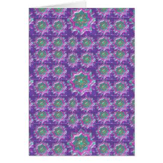 Peace n Joy: Holy Purple Star Constellation Card