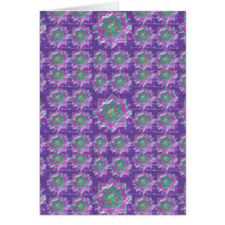 Peace n Joy: Holy Purple Star Constellation Greeting Card