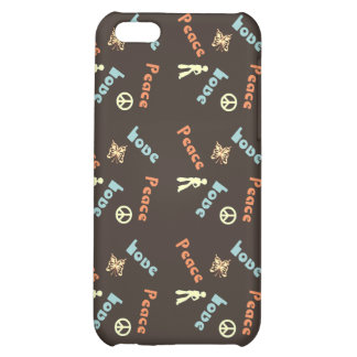 Peace n Love iPhone Speck Case Case For iPhone 5C