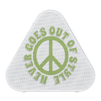 Peace never goes out of style speaker
