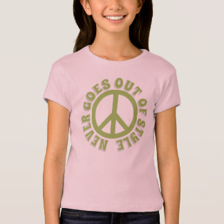 Peace never goes out of style T-Shirt