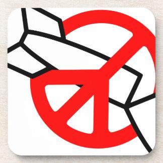 Peace No War Coasters