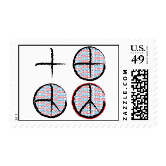 Peace Not Crosshairs Postage Stamp