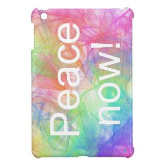 Peace now2! Case Savvy Glossy iPad Mini Case